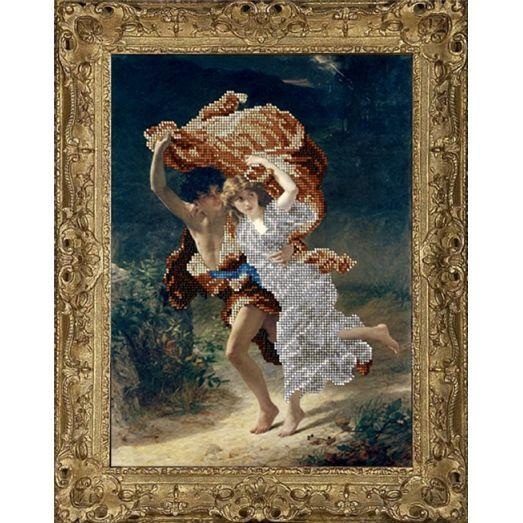 50816 Бегущие от грозы. Набор для вышивки бисером Краса и творчество