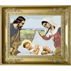 РПБ-003 Святое семейство. Схема для вышивки бисером ТМ Княгиня Ольга