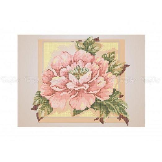 30-361 (30*40) Розовый цвет. Схема для вышивки бисером. Бисерок