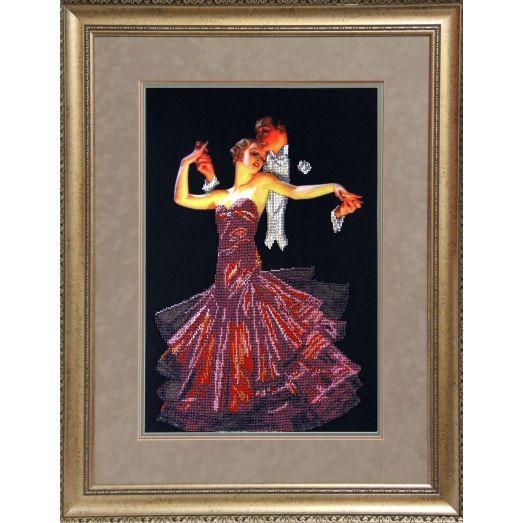 51010 Танго Набор для вышивки бисером Краса и творчество