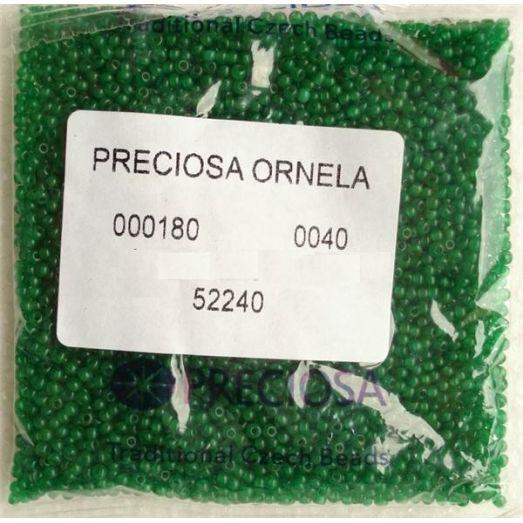 52240 / №428 Темно-зеленый алебастровый