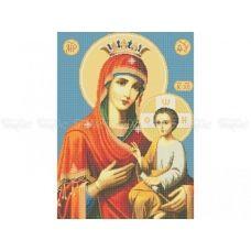 20-204 (40*60) Богородица. Схема для вышивки бисером Бисерок