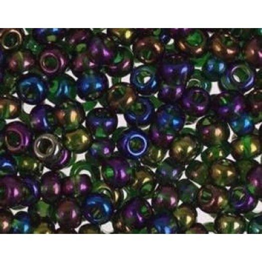 54270 Бисер Preciosa керамика разноцветный радужный