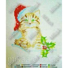 МИКА-К-027 Котёнок. Канва для вышивки нитками