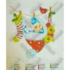 МИКА-К-030 Новогодние дремы. Канва для вышивки нитками