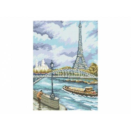 10-392 (30*40) Париж. Схема для вышивки бисером. Бисерок