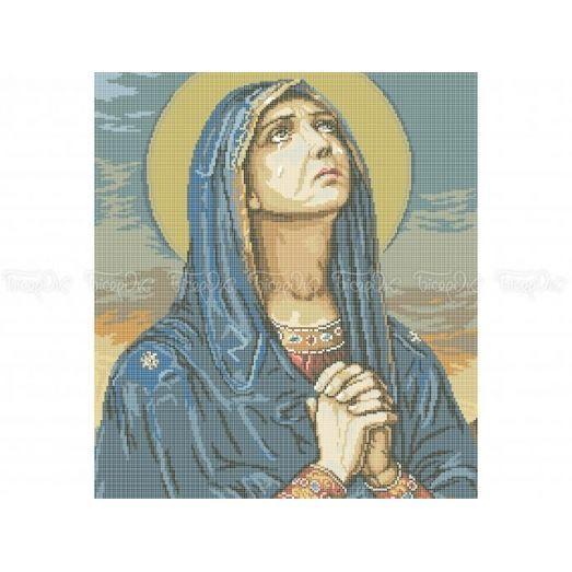 20-202 (40*60) Божья Матерь. Схема для вышивки бисером Бисерок