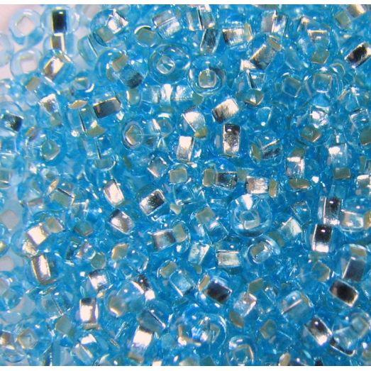 67000 / №485,324 Светлый голубой, серебряная серединка