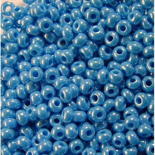 68050 Бисер темно-голубой, перламутровый