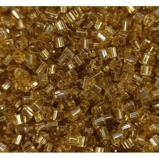 68106 Рубка Preciosa стеклянная серебряная с золотым прокрасом