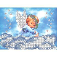 СД-017 Ангелочок на хмаринці. Схема для вышивки бисером. Княгиня Ольга