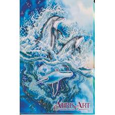 АВ-578 Рассекая волны. Набор для вышивки бисером. Абрис Арт