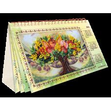 АКМ-003 Календарь. Дивный сад. Набор для вышивки бисером Абрис Арт