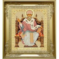 РПБ-004 Святитель Спиридон Тримифунтский. Схема для вышивки бисером ТМ Княгиня Ольга