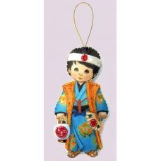 F-078 Набор с фетром Кукла. Япония-М. Butterfly