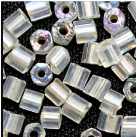 78109 Рубка Preciosa  белая с серебрением внутри