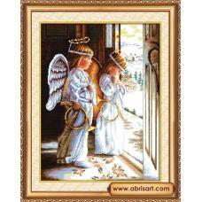 АН-001 Ангелы. Набор для вышивки крестом Абрис Арт