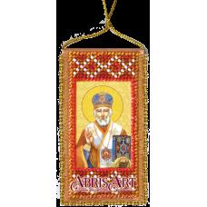 АВО-009 Молитва Николаю Чудотворцу. Набор для вышивки бисером Абрис Арт