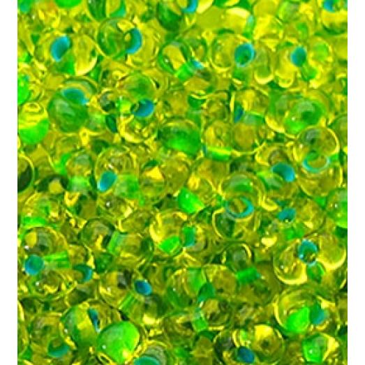 81058 Бисер Preciosa зеленый хамелион