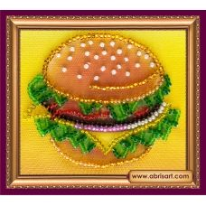 АМА-028 Бутербродик. Набор для вышивки бисером Абрис Арт