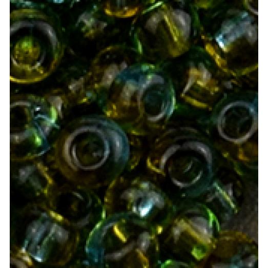 81761 Бисер Preciosa зелено-бирюзовый