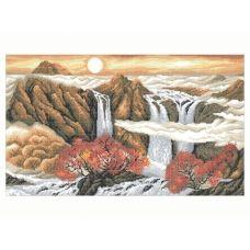 10-228 (40*60) Горы. Схема для вышивки бисером Бисерок