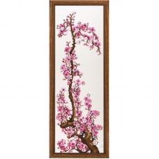 М-86 Розовая сакура. Набор для вышивки ТМ  Чаривна Мить