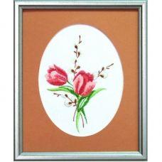 ГЛ-014 Тюльпаны. Набор для вышивки гладью. ТМ Чаривна Мить