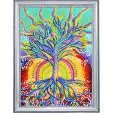 БФ-379 Солнечное дерево. Набор для вышивки бисером Батерфляй