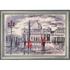 БФ-382 Прогулка в Риме (по картине О. Дарчук). Набор для вышивки бисером Батерфляй