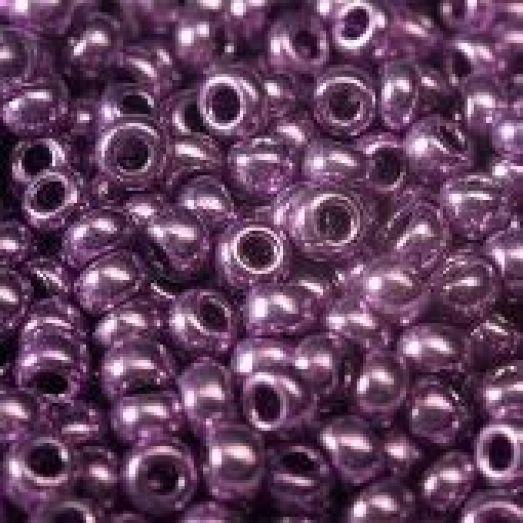 18528 Бисер Preciosa фиолетовый металлик терра