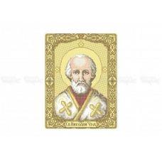 20-301 (30*40) Св.Николай. Схема для вышивки бисером Бисерок