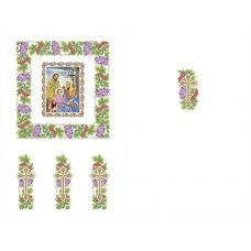 Х-003 Хоругвь. Схема для вышивки бисером ТМ Княгиня Ольга
