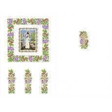 Х-004 Хоругвь. Схема для вышивки бисером ТМ Княгиня Ольга
