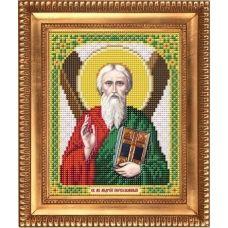 И-5105 Святой Апостол Андрей Первозванный. Схема для вышивки бисером Благовест