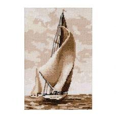 М-0880 Регата. Набор для вышивания картины нитками мулине. ТМ ВДВ