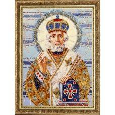 БФ-814 Св. Николай (по картине А. Охапкина). Набор для вышивки бисером Батерфляй