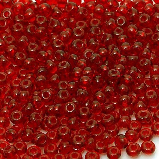 90090 / №112 Красный темный прозрачный