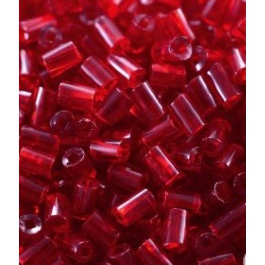 90090 Рубка Preciosa темно-красная прозрачное стекло