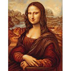 B416 Мона Лиза. Набор для вышивки нитками. Luca-s