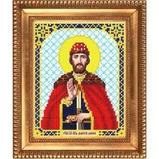 И-5109 Святой Великий князь Дмитрий Донской. Схема для вышивки бисером Благовест
