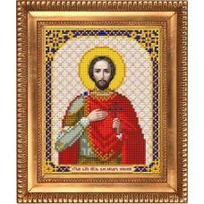 И-5113 Святой Благоверный Князь Александр Невский. Схема для вышивки бисером Благовест