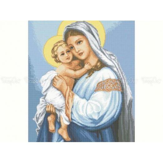 20-215 (40*60) Мария. Схема для вышивки бисером Бисерок
