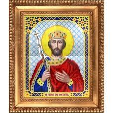 И-5114 Святой Великий Царь Константин. Схема для вышивки бисером Благовест