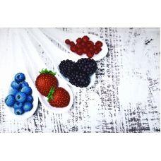 М-99001 Летние ягоды. Набор для вышивки бисером ТМ Miniart Crafts