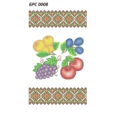 БРС-0008 Рушник на Спас. Схема для вышивки бисером ТМ Сяйво