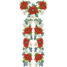БЖд-001-2 (белая). Заготовка женской сорочки. Барвиста Вишиванка