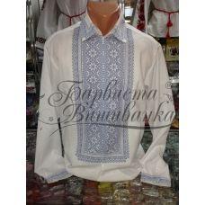 СЧд-005 Мужская заготовка сорочка. Барвиста Вишиванка