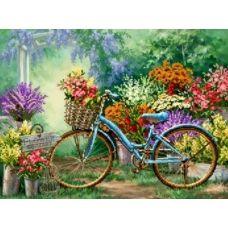 S-210 Выставка цветов. Схема для вышивки бисером ТМ Картины бисером