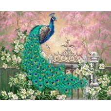 S-212 Райский сад. Схема для вышивки бисером ТМ Картины бисером